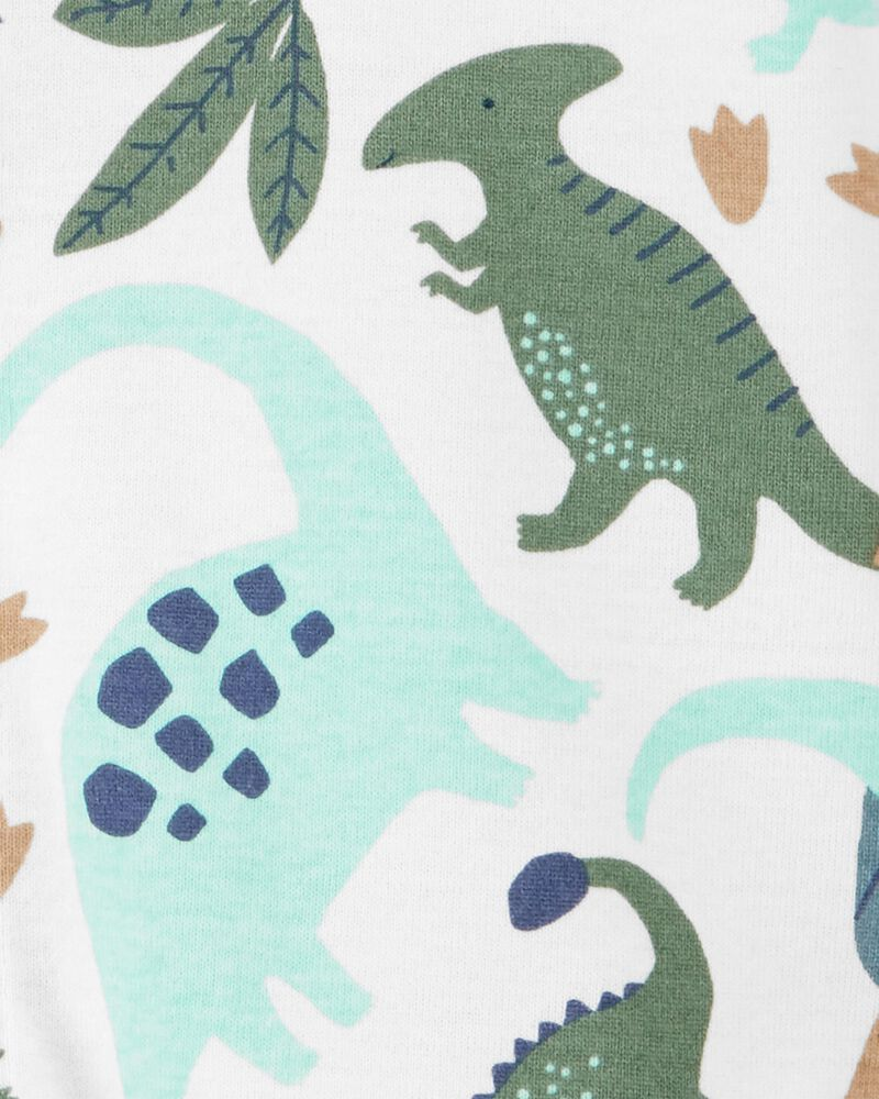 Dinosaur Snap-Front Romper, , hi-res