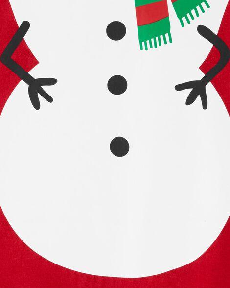 2-Piece Snowman Coverall & Hat Set