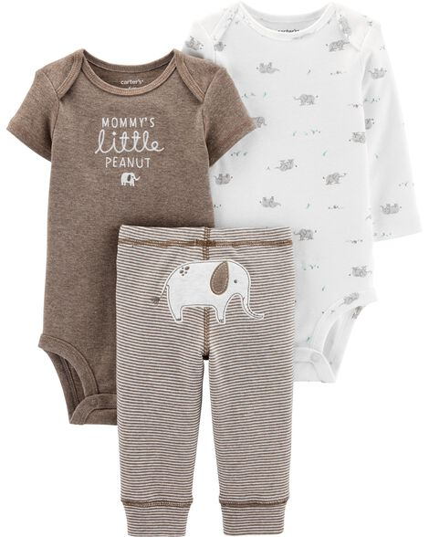 3-Piece Elephant Little Character Set