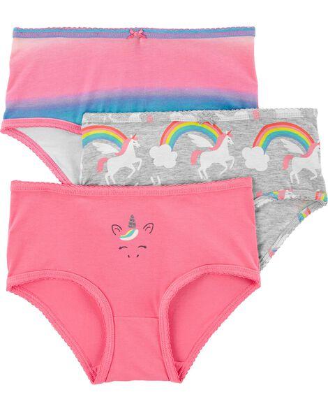 Emballage de 3 sous-vêtements en coton extensible