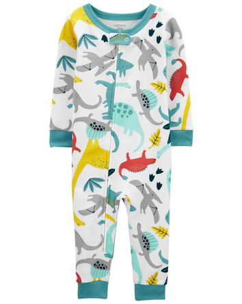 1-Piece Dinosaur 100% Snug Fit Cott...