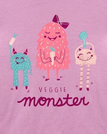 Veggie Monster Jersey Tee