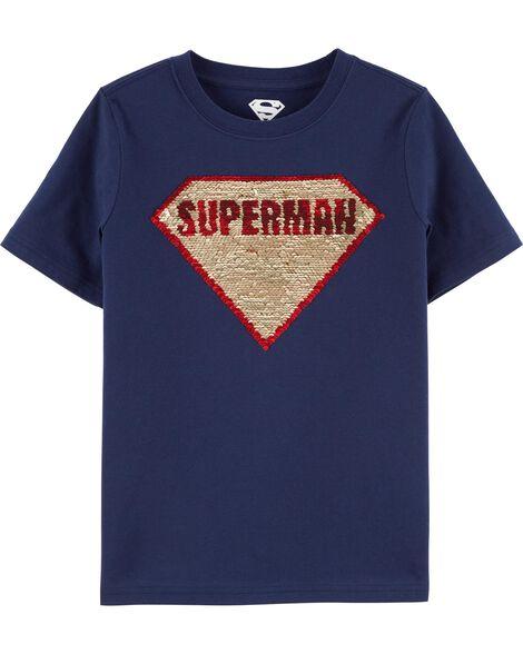 Superman Flip Sequin Tee