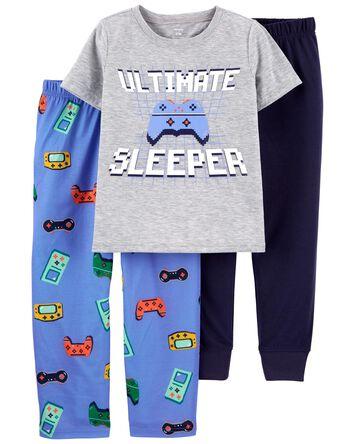 Pyjama 3 pièces de coupe ample Game...