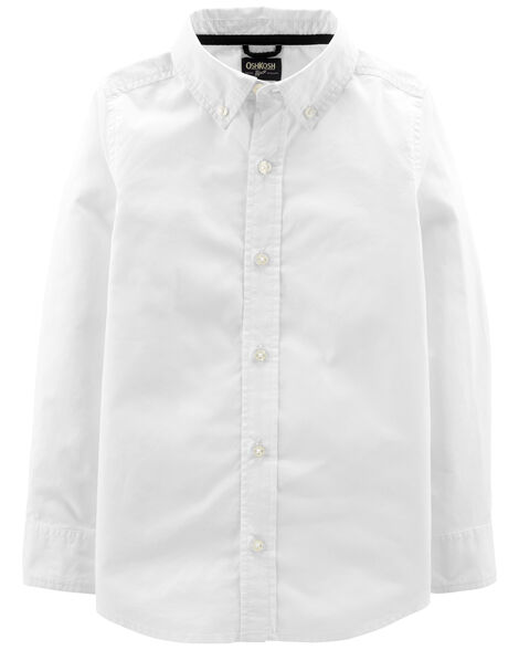 Uniform Button-Front Shirt