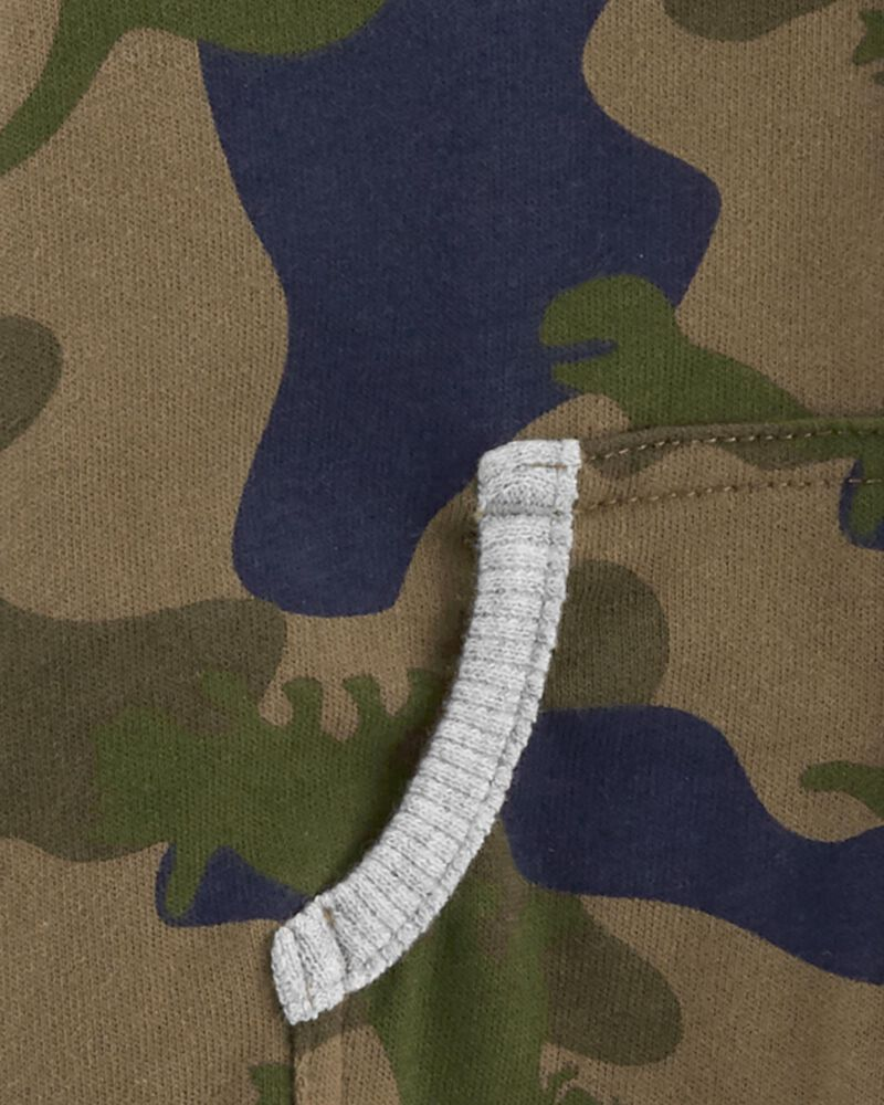 Camo French Terry Jumpsuit, , hi-res