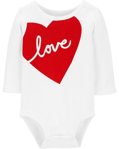 Love Heart Valentine's Day Collectible Bodysuit