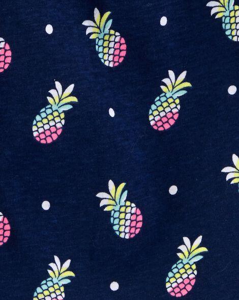 Robe en jersey à ananas