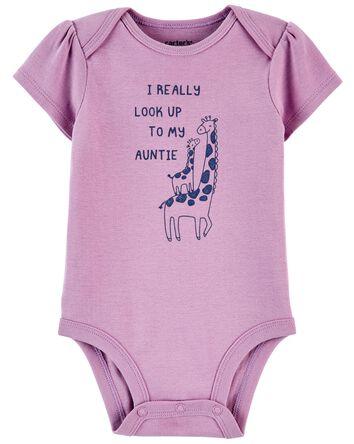 Giraffe Aunt Original Bodysuit