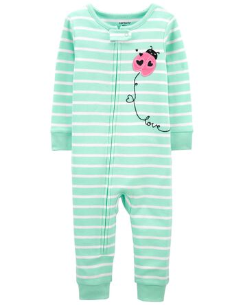1-Piece Ladybug 100% Snug Fit Cotto...