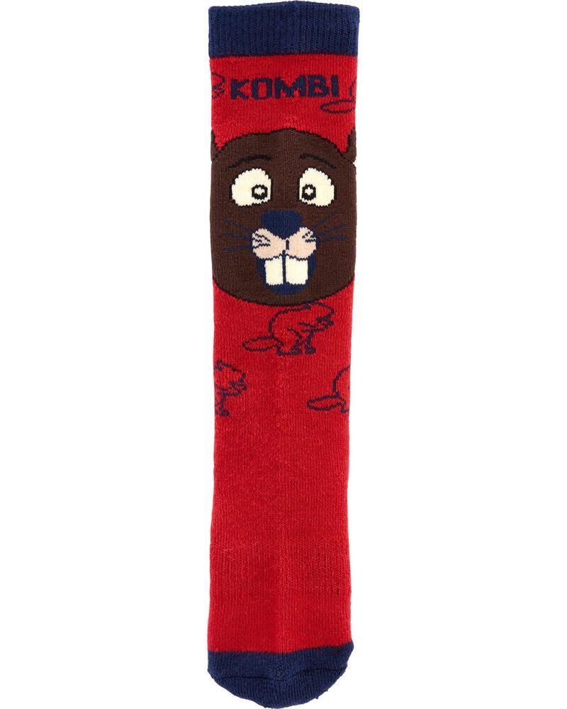 Kombi Justin The Beaver Socks, , hi-res
