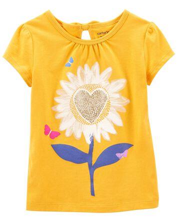 Sunflower Jersey Tee