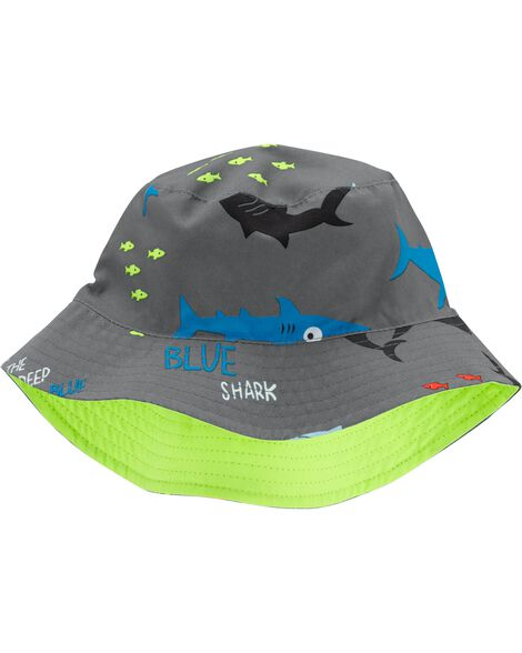 Reversible Shark Bucket Hat