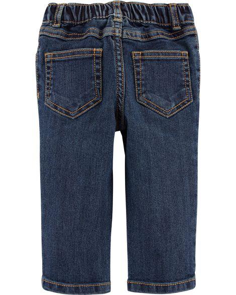 Ensemble 2 pièces chemise à motif écossais et jeans