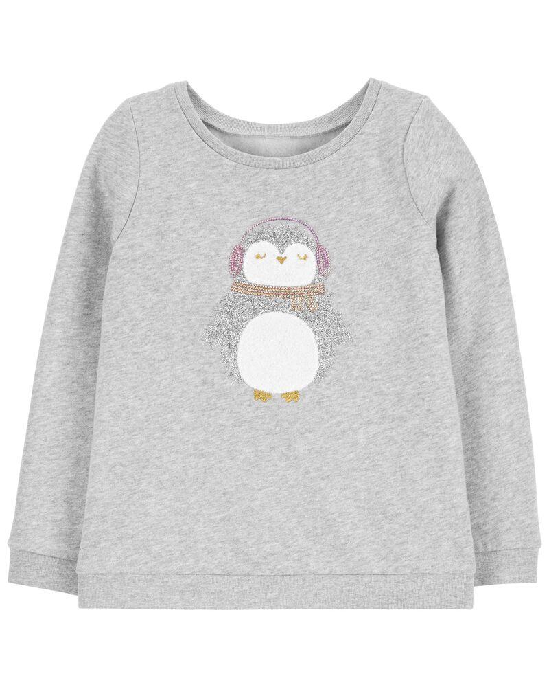 Chandail à pingouin scintillant, , hi-res