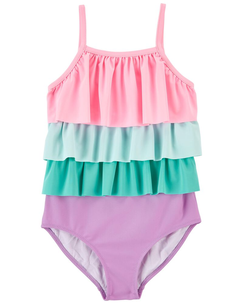 Carter's Ruffle 1-Piece Swimsuit, , hi-res