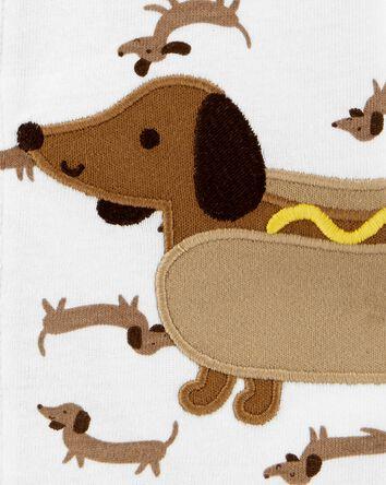 Hot Dog Snap-Up Romper