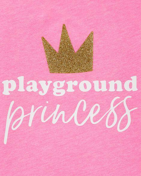 T-shirt à imprimé original princesse