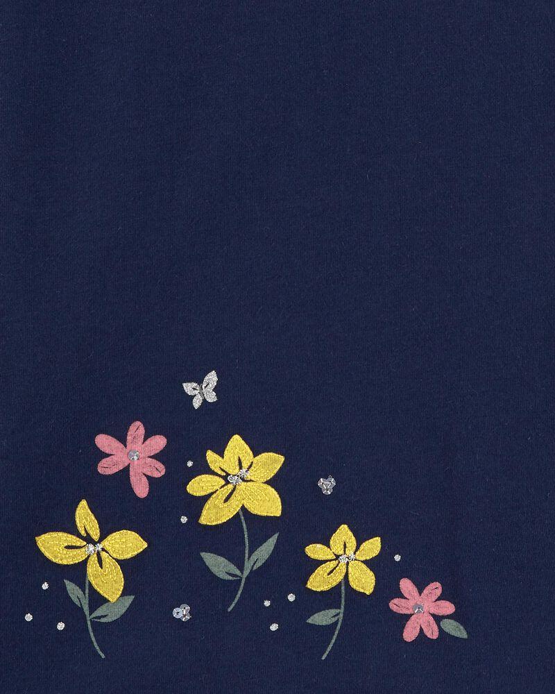 T-shirt en jersey à abeille, , hi-res