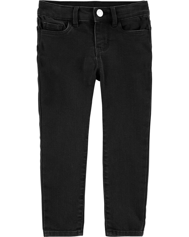 Jegging en denim noir, , hi-res