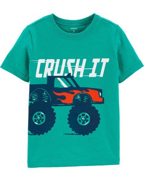 T-shirt en jersey avec camion monstre