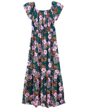 Tween Tropical Maxi Dress