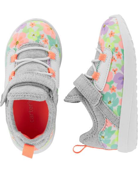 Floral Athletic Sneakers