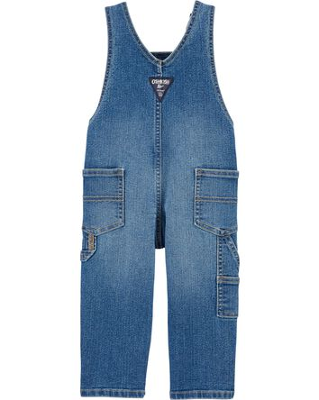 Logo Denim Overalls