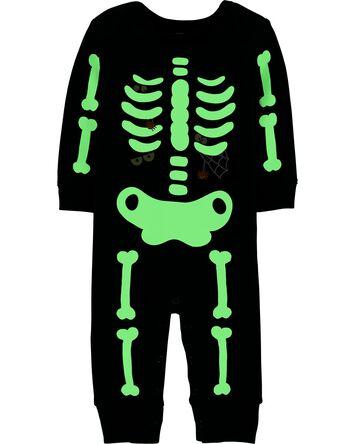 Combinaison avec squelette d'Hallow...
