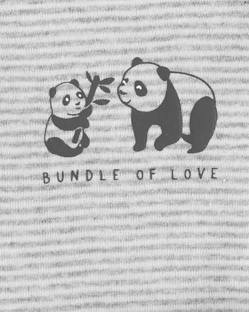 Ensemble 3 pièces Little Character panda, , hi-res