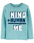 Kind + Human = Me Jersey Tee, , hi-res