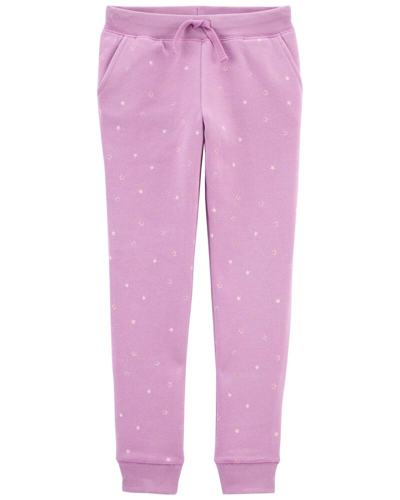 Star Logo Fleece Pants, , hi-res