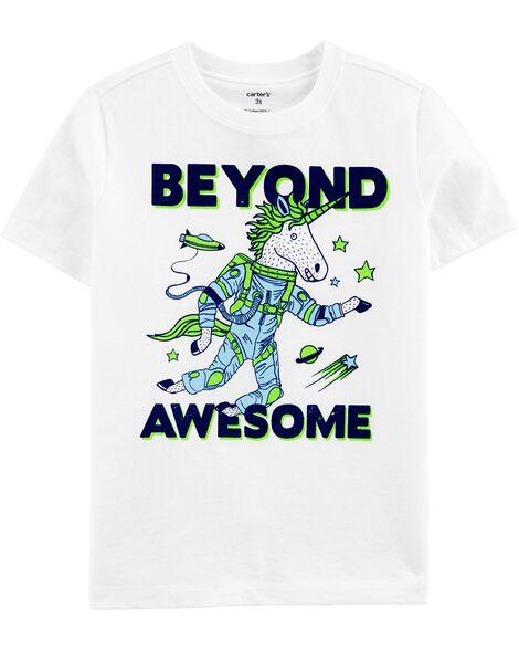 T-shirt en jersey Beyond Awesome