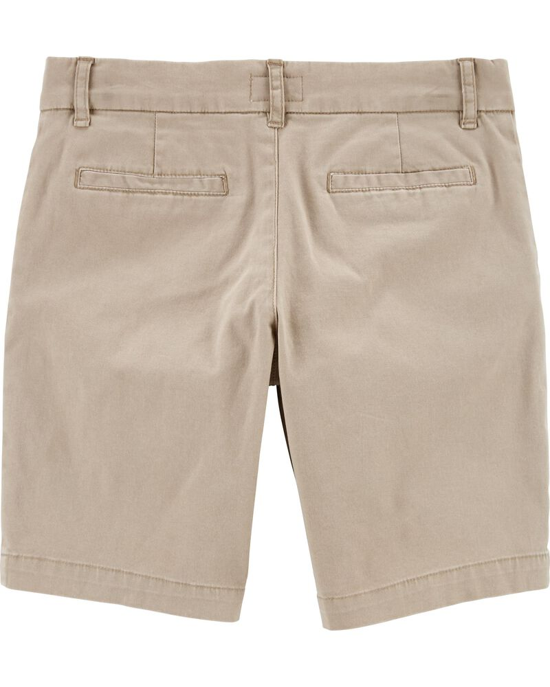 Stretch Uniform Shorts, , hi-res