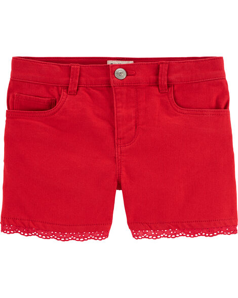Stretch Twill Shorts