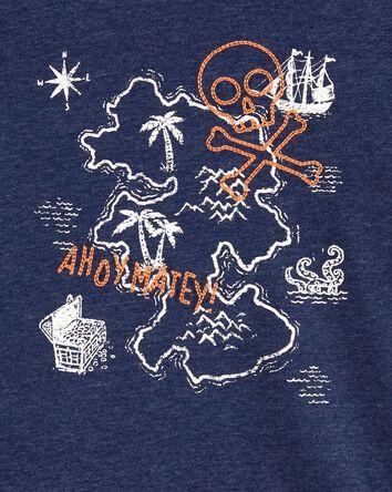 T-shirt brodé Ahoy Matey