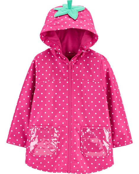 Strawberry Raincoat