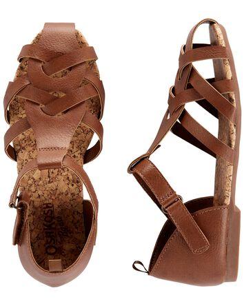 Sandales tissées