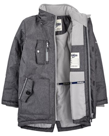 Fleece-Lined Heavyweight Parka