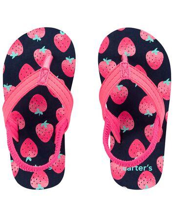 Strawberry Flip Flops