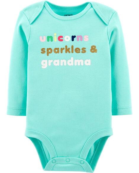 Cache-couche à collectionner Unicorns Sparkles & Grandma