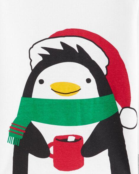 2-Piece Penguin Snug Fit Cotton PJs
