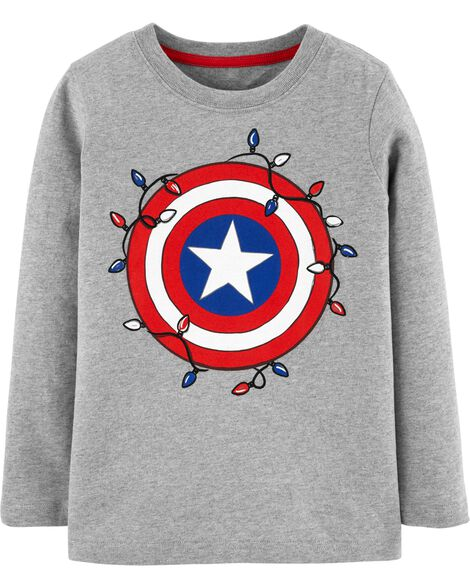 Captain America Christmas Tee