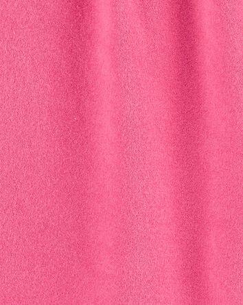 Cache-maillot en tissu bouclé