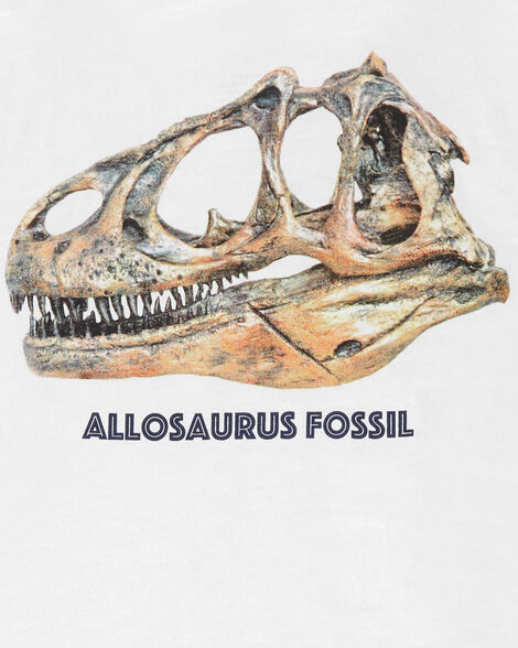 T-shirt en jersey flammé dinosaure