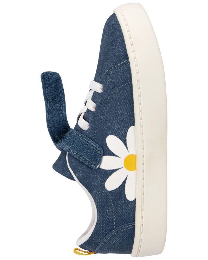 Daisy Chambray Sneakers, , hi-res