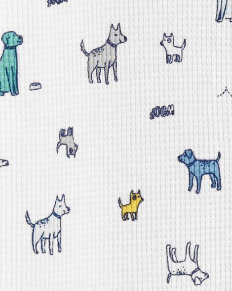 Grenouillère isotherme à boutons-pression chien