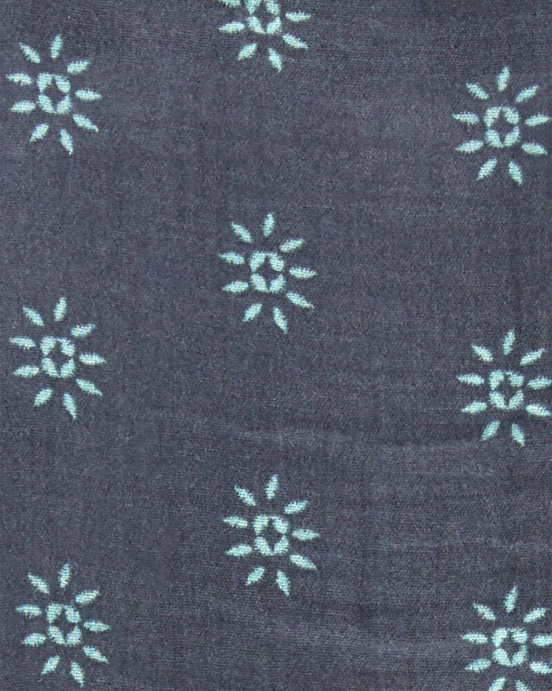 Robe en tissu gaze fleuri Tween, , hi-res