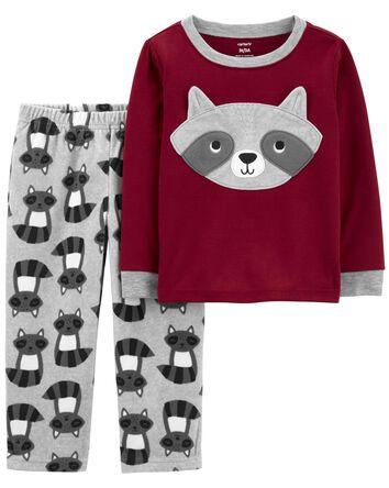 Pyjama 1 pièce en molleton raton la...