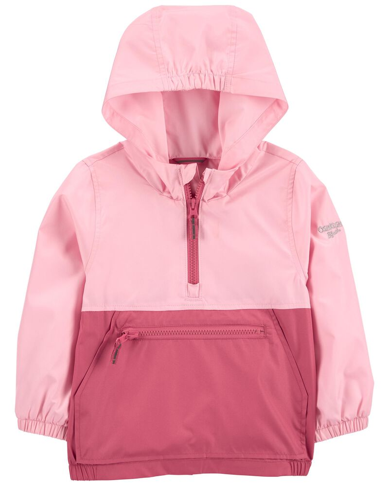 Colourblock Packable Pullover Jacket, , hi-res